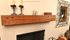 rustic mantel wall shelf california