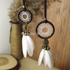 Small Dream Catcher Necklace Interesting New Indian Dream Catcher Necklace With Small Bell And Crystal Balls
