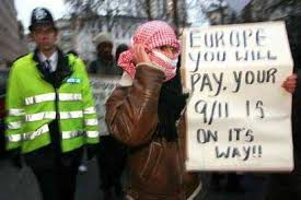 Image result for muslim protest in uk