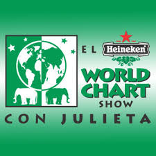 El Heineken World Chart Show Con Julieta Producer Writer