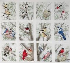 12 Block Fabric Panel Beautiful Bird Quilt Squares Chickadee ... & Image is loading 12-Block-Fabric-Panel-Beautiful-Bird-Quilt-Squares- Adamdwight.com