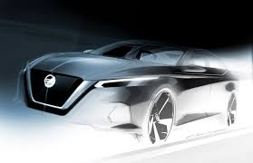 Nissan Altima New Design Official Design Sketch Of The All New Nissan Altima Revealed