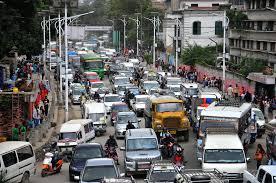 koteshwor kalanki stretch suffers worst traffic jams ratnapark traffic jam