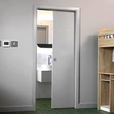single pocket doors. ripple white single pocket door doors