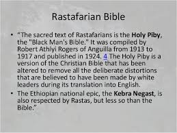 Rasta Bible Quotes