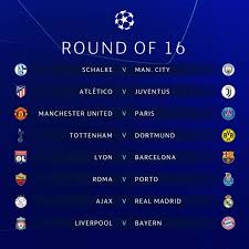 uefa champions league 2018 19 round of 16 draw