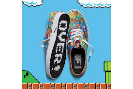 vans x nintendo. photo of the vans x nintendo spring summer 2016 collection super mario.