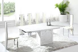 white marble round dining table large size of in exquisite