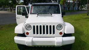 2008 jeep wrangler mat white rhino paint job