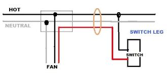 help installing a ceiling fan (no light) on a circuit w power Switch Loop Wiring Ceiling Fan name 33 jpg views 8789 size 11 6 kb switch loop ceiling fan wiring
