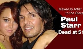 Paul Starr, Make-Up Artist to the Stars, Dead at 51 - Make-Up Artist  Magazine