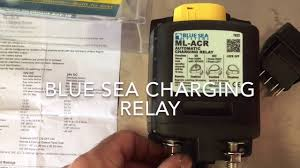 sprinter van blue sea charging relay install youtube Automatic Charging Relay Wiring Diagram Automatic Charging Relay Wiring Diagram #85 Blue Sea 7611 Wiring-Diagram
