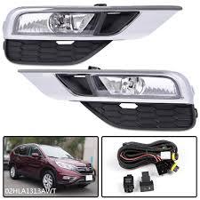 2016 Honda Crv Fog Light Assembly Details About For Honda Cr V Crv Fog Lights Bumper Lamps Switch Left Right 2015 2016