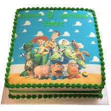 Toy Story Birthday Cake Flecks Cakes