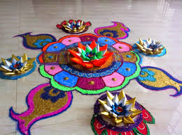 Rangoli Designs For School Competition Art Craft Ideas And Bulletin Boards For Elementary Schools