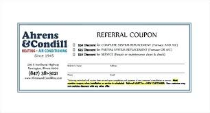 Customer Referral Coupon Template
