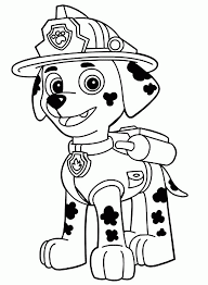 15 Pics Of Rubble From Paw Patrol Coloring Pages Rubble Paw