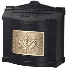 Residential Mailboxes Wall Mount Gaines Maple Leaf
