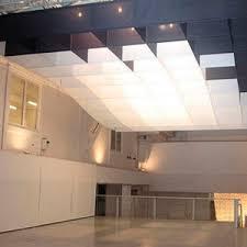paper suspended ceiling / floating / decorative / flame-retardant