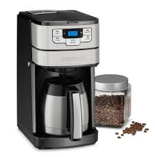 Thank you for your question regarding your black+decker thermal coffee maker. Cuisinart Automatic Grind Brew 10 Cup Coffeemaker