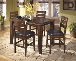 Ashley Furniture Kitchen Sets Ashley D442 Larchmont Counter Table Set Best Furniture Mentor Oh