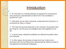 Interview Introduction 15 Introduction Letters For Employment Paystub Confirmation