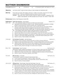 Skill Set Resume Template Jospar