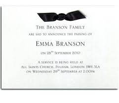 Memorial Announcement Cards Funeral Invitation Cards In Ghana Templates Free Sample Example