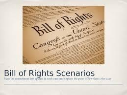bill of rights ppt bill of rights scenarios ppt miranda rights pinterest bill of