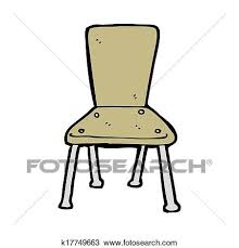 school chair drawing. Contemporary School Cartoon Old School Chair In School Chair Drawing T