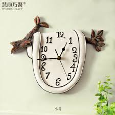 Country Kitchen Wall Clocks Online Shop Wisdom Clever Poly Dimensional Art Creative Fashion