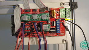 (scalar xl) connect the other side of the wire on the power terminal blocks, on the very first connector starting from the top, just above the previous wire