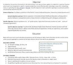 Example Education Resume Higher Education Resume Samples Resume ...