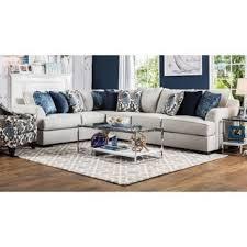 l shape furniture. Furniture Of America Rosille Contemporary Beige Fabric L-Shaped Sectional L Shape