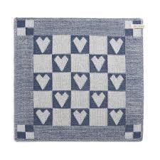 kitchen towel heart middle ecru jeans
