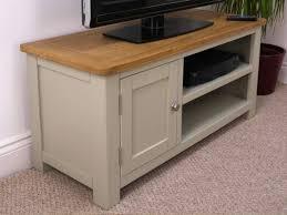 Grey Painted Oak Small TV Unit | Oak City