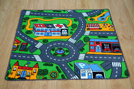 play mat car 12 traffic signs
