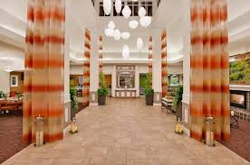 the lobby or reception area at hilton garden inn san francisco airport north
