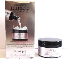 philosophy ultimate miracle worker retinol superfood oil pads review