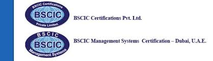 Bscic Certifications An Independent Conformity Assessment Body And