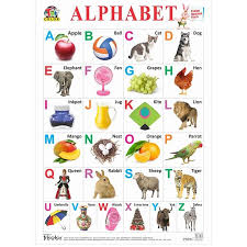 Tricolor Books Big Alphabet Chart English Info