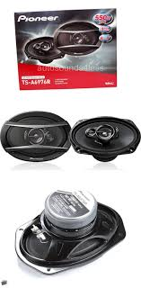 pioneer yellow cone 6 x 9. car speakers and speaker systems: new pioneer ts-a6976r 550 watts 6 x 9 yellow cone