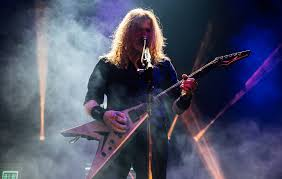 Dave Mustaine, Frontman for Heavy Metal Band Megadeth, Blasts Mask Mandates During New Jersey Concert