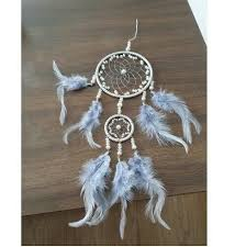 dream catcher 2 ring feather wall