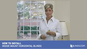 how to install inside wood and fauxwood blinds raquo