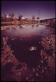 revising the persuasive essay thesis supported by evidence  a photograph of a polluted river full of trash and discolored sludge