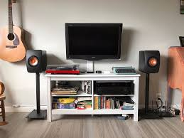 kef ls50 home theater. kailin system: yamaha av receiver, project debut carbon turntable/ortofon red, kef kef ls50 home theater
