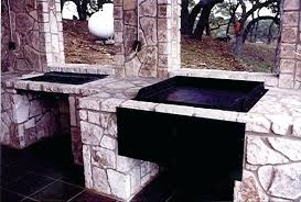 outdoor built in grill and griddle combo givens fireplaces patio recreation centers