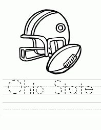 Small Picture Ohio State Football Coloring Book High Quality Coloring Pages