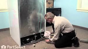 refrigerator repair replacing the triple solenoid water valve refrigerator repair replacing the triple solenoid water valve frigidaire part 241734301